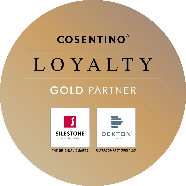 Cosentino Gold Partner Logo