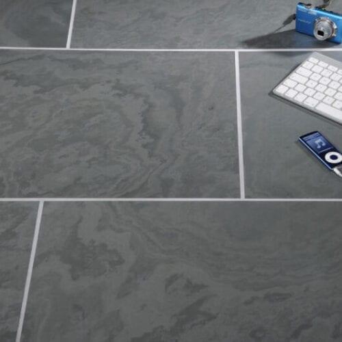 Brazilian Slate Tiles: Honed Finish